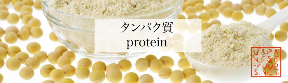 【栄養素】タンパク質(Protein)