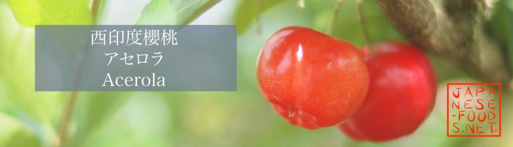 西印度櫻桃 アセロラ Acerola