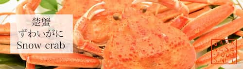 楚蟹 ズワイカニ(Snow crab)