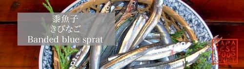 黍魚子 きびなご(Banded blue sprat)