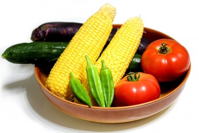 8月 旬の野菜と果物の旬