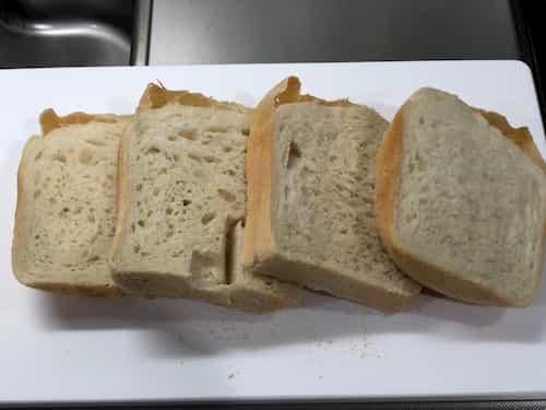 ココナッツオイルの食パン 2020.10.17