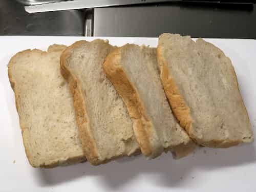 ココナッツミルクの食パン 2020.10.19