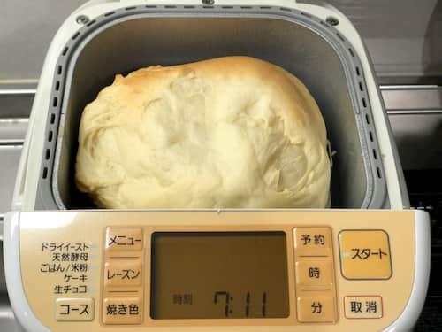 生クリームの食パン③