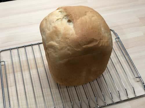 ココナッツの食パン (ココナッツミルク60%+ココナッツオイル6%)