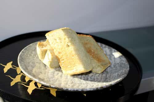 緑茶の食パン (緑茶2%)