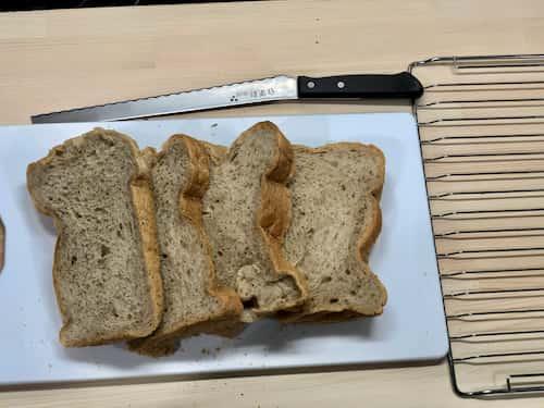ロイヤルミルクティーの食パン